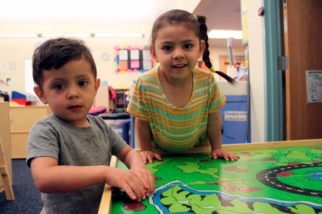 A day care center in Albuquerque, N.M., on May 4, 2021.