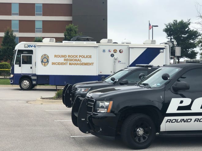 Round Rock police investigated at Home2 Suites on June 7 after Antonio Diaz, 39, was fatally shot by an officer. Diaz had confronted people in the lobby with a gun, police said.
