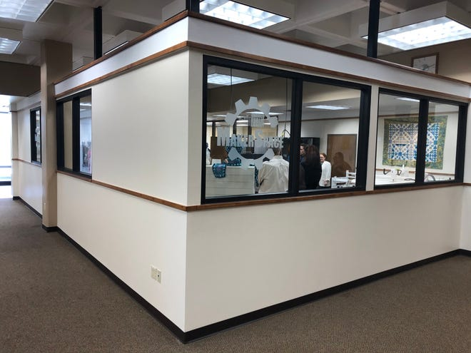 The Amarillo Public Library hosted a grand opening for its Makerspace Monday afternoon, located on the second floor of the downtown library.