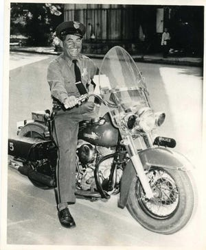 """Augusta policeman Frank """"Hank"""" Wall Jr. was killed during a traffic stop in 1958. One man was convicted in the case but was acquitted on appeal."""