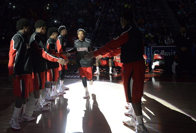 Sheldon Jeter Jr., 23, of Aliquippa is seen here in this file photo from a PIAA Class AA boys championship game.