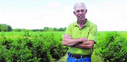 Mike Pullins isa farmer and landowner in Champaign County.