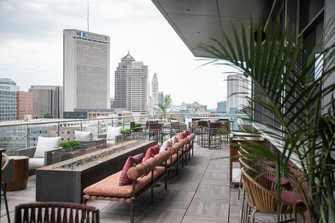 Downtown's new AC Hotel includes a rooftop bar.