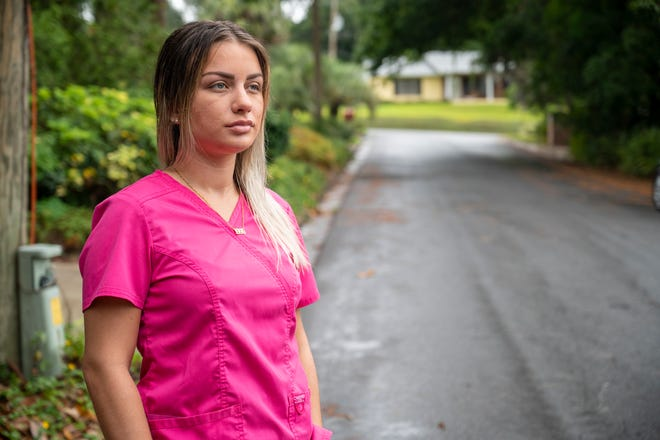 Lexi Griffith was the victim of a hit and run in Tavares. [Cindy Peterson/Correspondent]