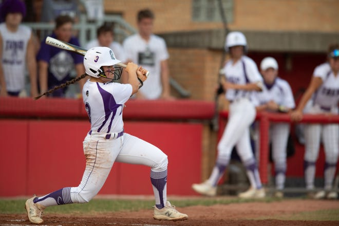 Hailey Massaro takes a big swing for Triway. Massaro and the rest of the Titans are all set to return for the 2022 season as well.