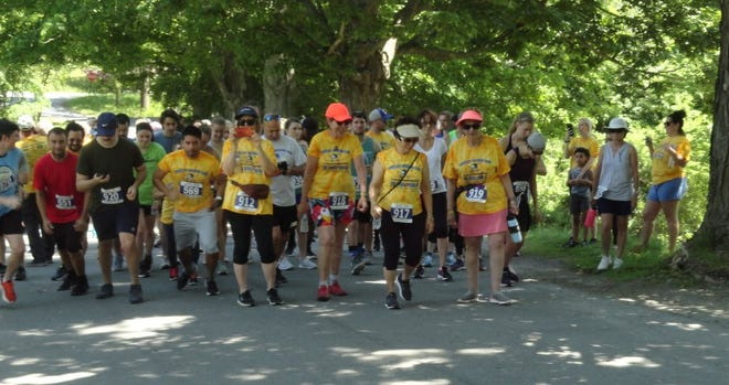 The 9th annual Hawley Spring Run - A Race Against Suicide 5k Run/Walk, gets set to step off, June 6, 2021 in Bingham Park.