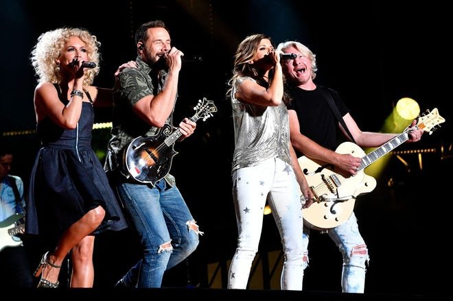 Little Big Town has booked a show at Daily's Place for October.
