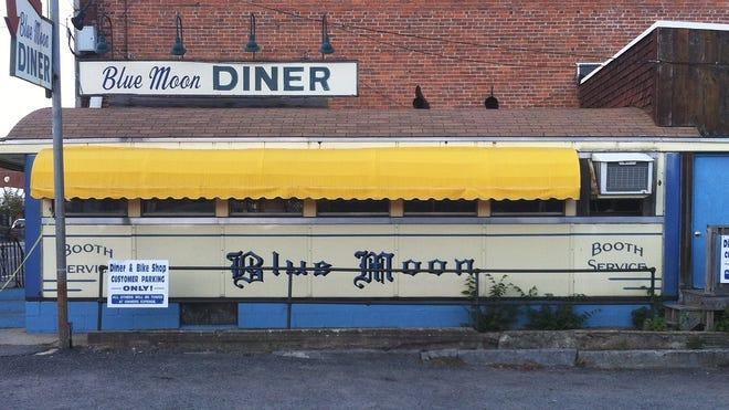 The Blue Moon Diner in Gardner.