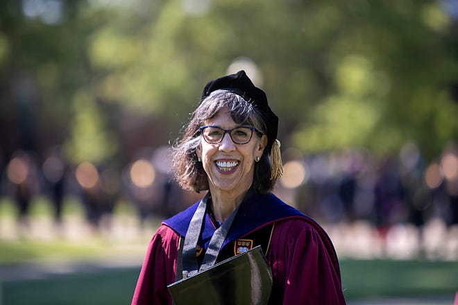 Knox College celebrated their 176th Commencement with two ceremonies on the south lawn of Old Main on Saturday, June 4, 2021.