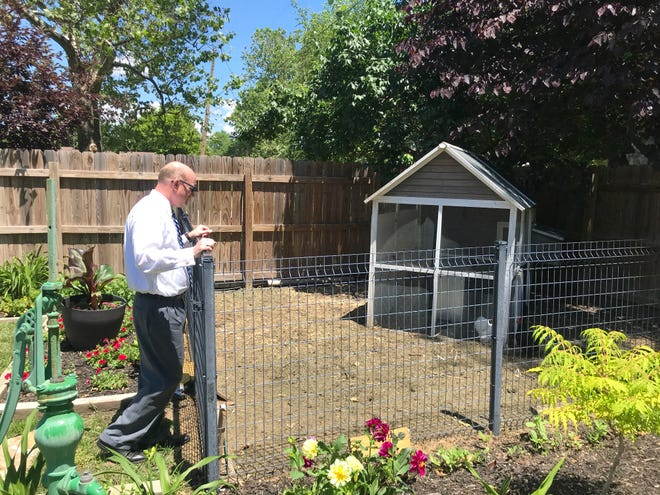 Charlie Robinson spends upwards of two hours a day watering and working in his back yard garden, and his efforts will be on display this weekend as his home will be part of the annual garden tour.