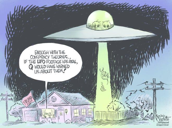 Today's editorial cartoon (June 8, 2021)
