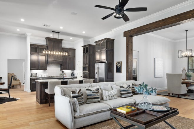 A look inside 4221 Moorgate Drive in Norman, built by Landmark Fine Homes. The new house is in the Festival of Homes organized by the Builders Association of South Central Oklahoma. The Festival continues Friday through Sunday.