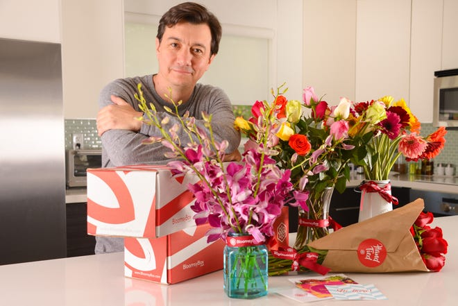 """Juan Palacio, of BloomsyBox: """"Many florist shops play the numbers game. They gamble on whose business matters and whose doesn't."""""""