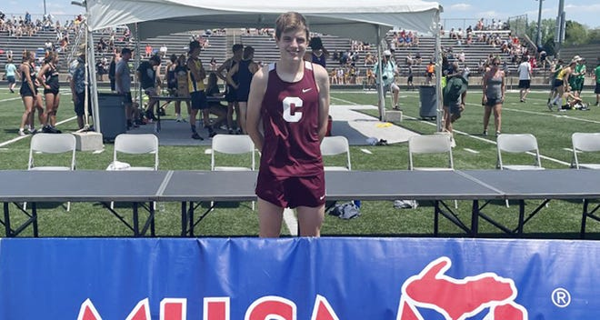 Charlevoix's Sam Peterson placed sixth overall in the 1600 meter run at the MHSAA Division 3 state finals Saturday, second among underclassmen.