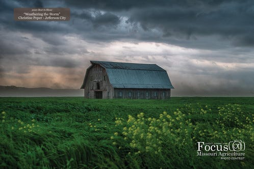 Missouri Department of Agriculture's photo contest enters final week. Entries must be submitted by June 11.