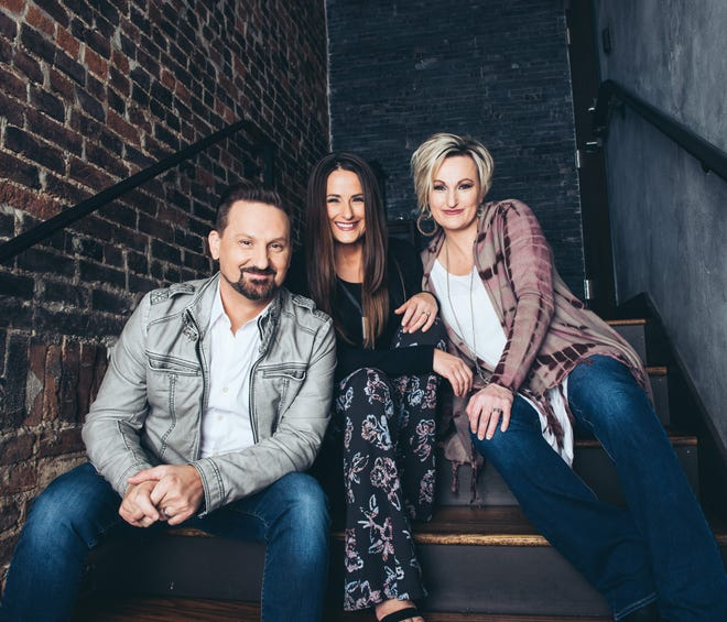 From left are Jonathan Martin, Judy Martin Hess and Joyce Martin Sanders of the gospel singing group The Martins. The popular trio is performing on Friday at Malone University's Johnson Center in Canton. Tickets are still available online through Canton Christian Home.