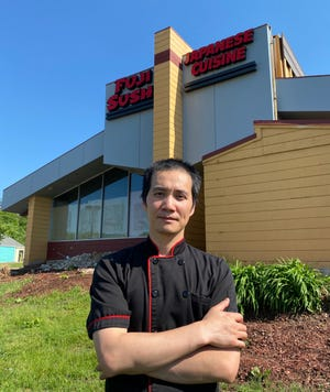 Jason Chen, owner of Fuji Sushi restaurant at 3960 Everhard Road NW in Plain Township, said the new eatery will open later this year. Chen also will serve as head chef.
