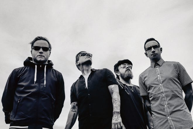 Shinedown performs Sept. 15 at Four Winds Field at Coveleski Stadium in South Bend. Photo provided