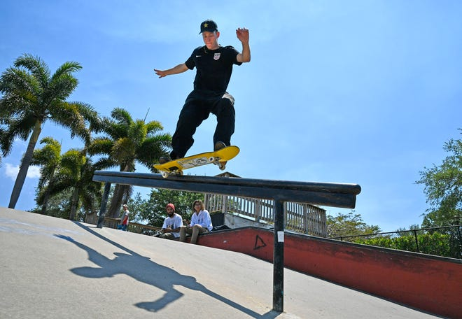 Jake Ilardi, 24, of Osprey, qualified for the 2021 Summer Olympics in Tokyo, after finishing seventh at the Worldskate Street Skateboarding Championships in Rome, Italy.