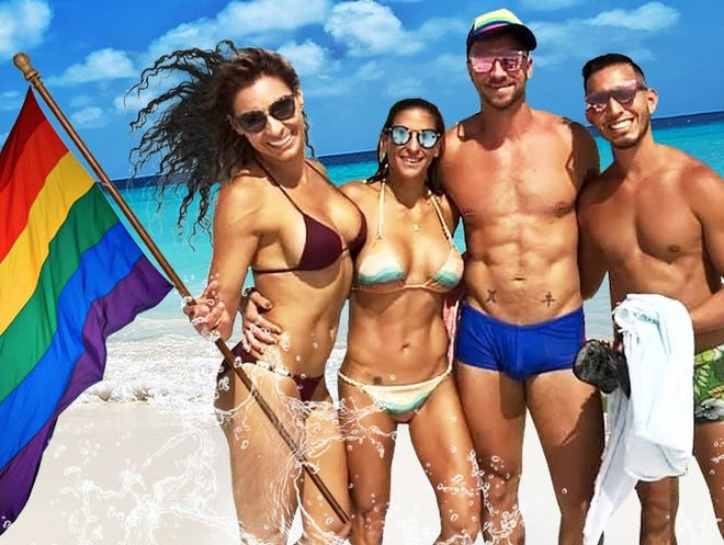 """The fourth annual """"Big Gay Beach Party"""" is Saturday from 11 a.m. to 6 p.m. on North Lido Beach in Sarasota."""