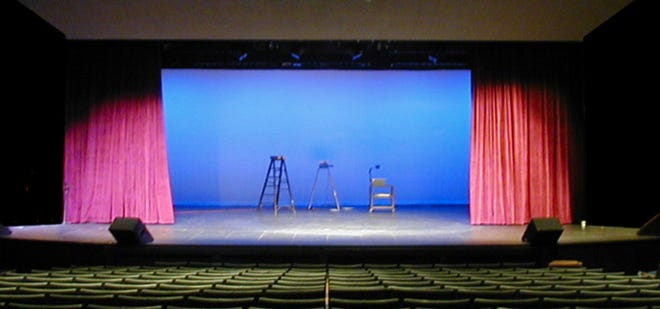 The Yreka Community Theater is a great space for plays and other events.