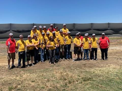 The Yreka High Trap Shooting team took first place overall  at the state championships in Kingsburg.