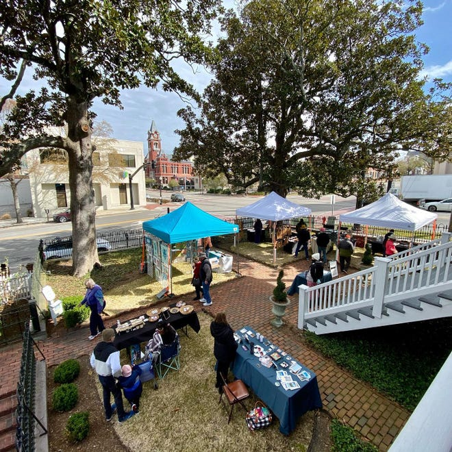 Burgwin-Wright House and Gardens will hold its summer craft market on Saturday, June 19.