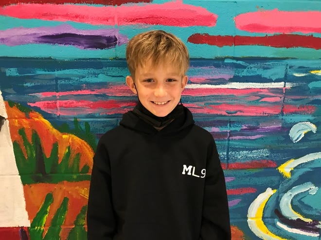 Max Lambert of North Topsail Elementary is Pender County Schools' Student of the Week.