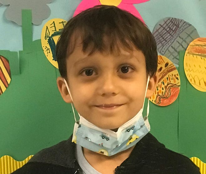Alexander White of Surf City Elementary is Pender County Schools' Student of the Week.