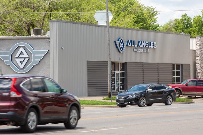 Chicago-based Crash Champions LLC announced Monday it has purchased All Angles Collision Repair, which has locations in Newton, Topeka and Wichita. All Angles' Topeka location, 1115 S.W. 6th Ave., is pictured here.
