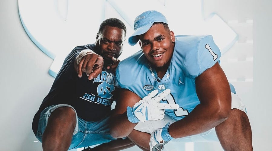 Is it UNC vs. Virginia for 5-star offensive lineman Zach Rice?