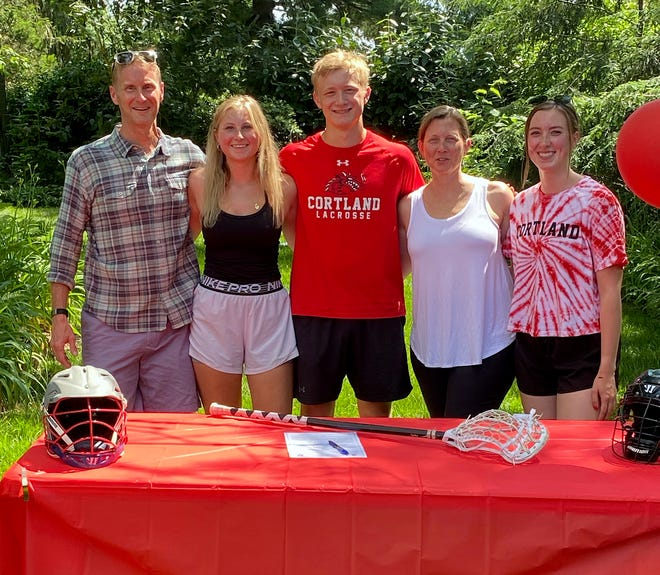 Miles Kane has committed to SUNY Cortland to play lacrosse.