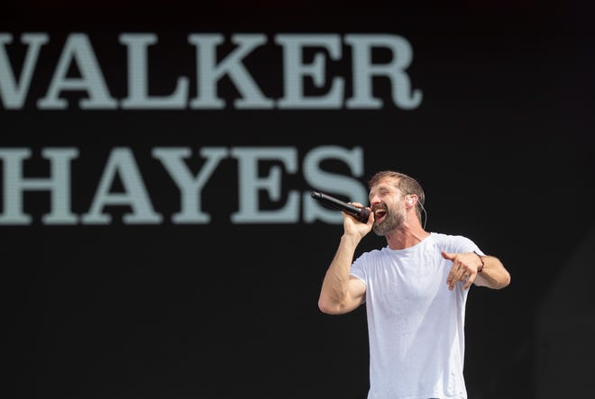 Walker Hayes is performing Sept. 11 at the New Mexico State Fair in Albuquerque.