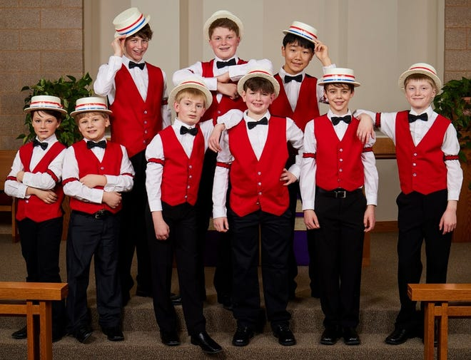 The North Star Boys Choir will perform at 7 p.m. Sunday at the Goss Opera House.