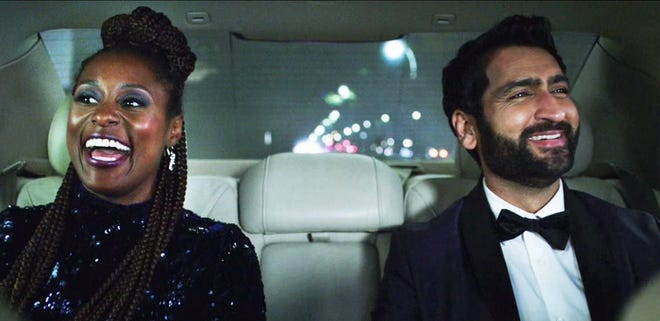 "Issa Rae and Kumail Nanjiani star in ""Lovebirds."""