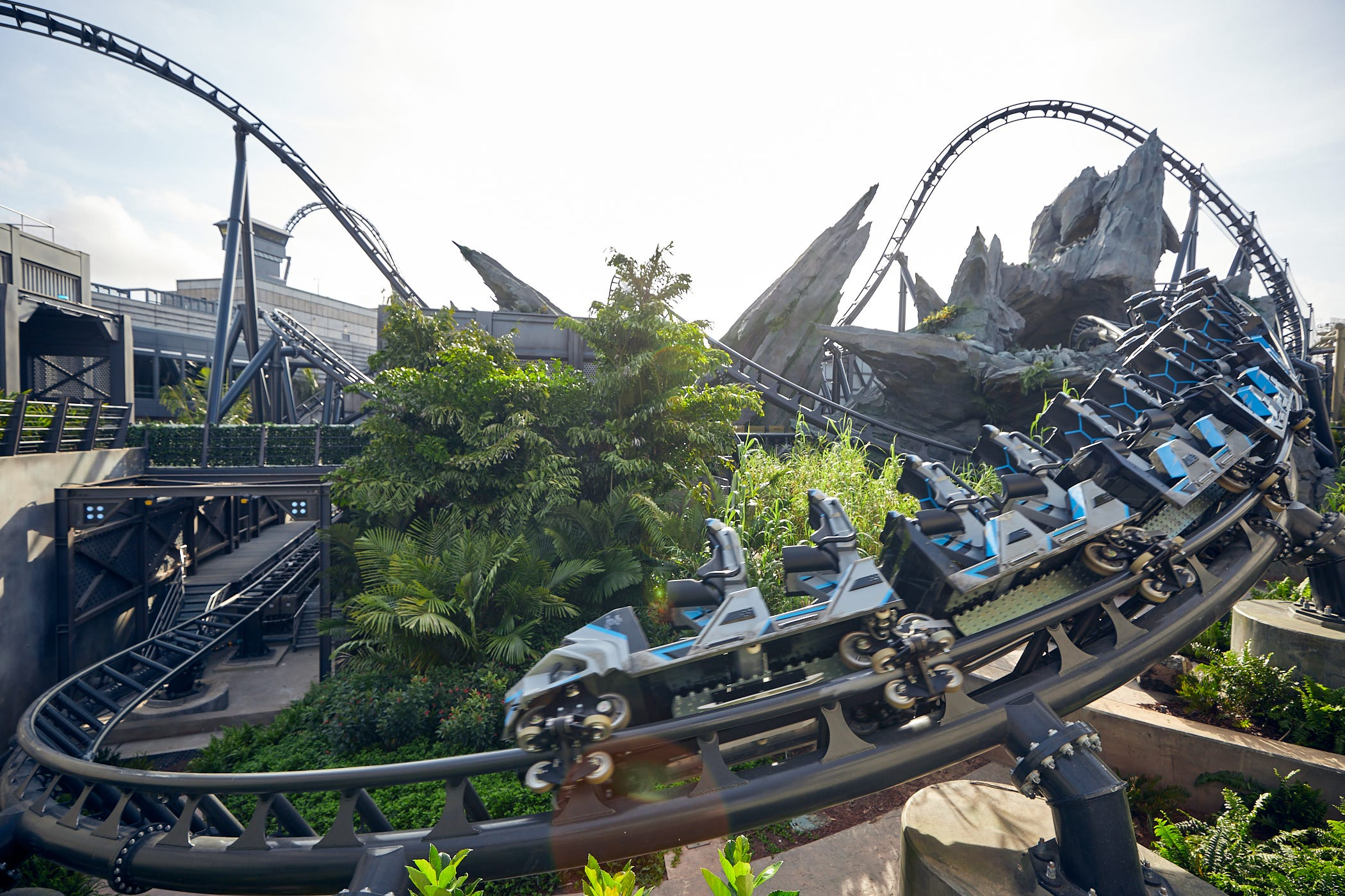 Roller coaster review: Universal Orlando's Jurassic World ride is open, and it's terrifying