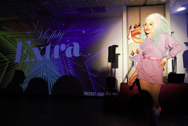 The Coastal Bend Pride Center held it's fourth annual LGBTQIA+ Youth Prom Saturday, June 5, 2021. Miss Matte was one of the local drag queens to perform at the event.