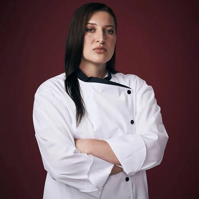 """Chef Josie Clemens is on """"Hell's Kitchen: Young Guns."""""""