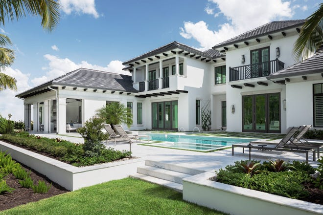 Michael Diamond, president of Diamond Custom Homes, built this house for his family and used it occasionally to show clients the quality of building his company does. But he recently sold the home and is now building another dream house.