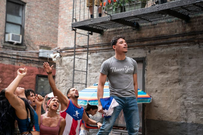 """Anthony Ramos stars in """"In the Heights,"""" the big-screen adaptation of Lin-Manuel Miranda's hit Broadway musical."""