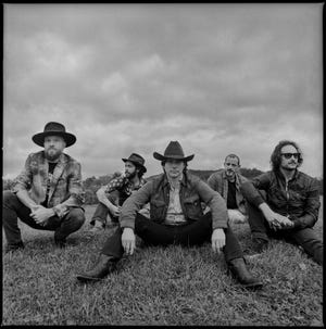"""Lukas Nelson & Promise of the Real recorded a new album, """"A Few Stars Apart,"""" at RCA Studio A in Nashville."""
