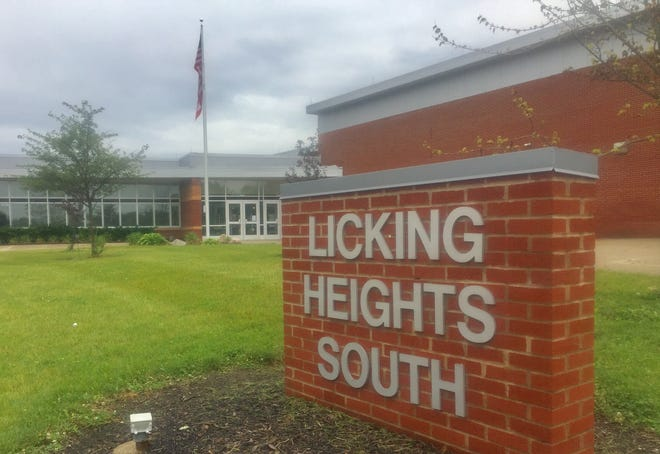 Licking Heights South Elementary, located at Summit Road close to Broad Street, would see some enrollment relief if a new elementary school is built.