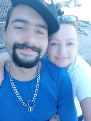 Tresa Pruitt (right) is seeking answers to who ran over her son Johnny Villarreal (left) on Friday, June 4, 2021.