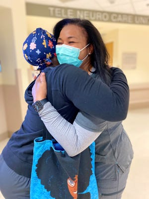 Pamela Beavers-Simmons, RN - Capital Regional Medical Center, – nurse manager of COVID Unit (at the time) contracted COVID in Dec. 2020 and was hospitalized and taken care of by her own colleagues.