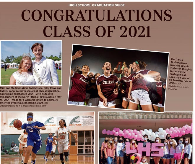 Tallahassee area High School Graduation Guide: Congratulations Class of 2021