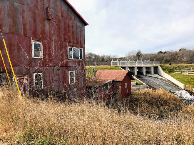 The old Wild Rose Mill generates many memories from the boyhood of Jerry Apps.