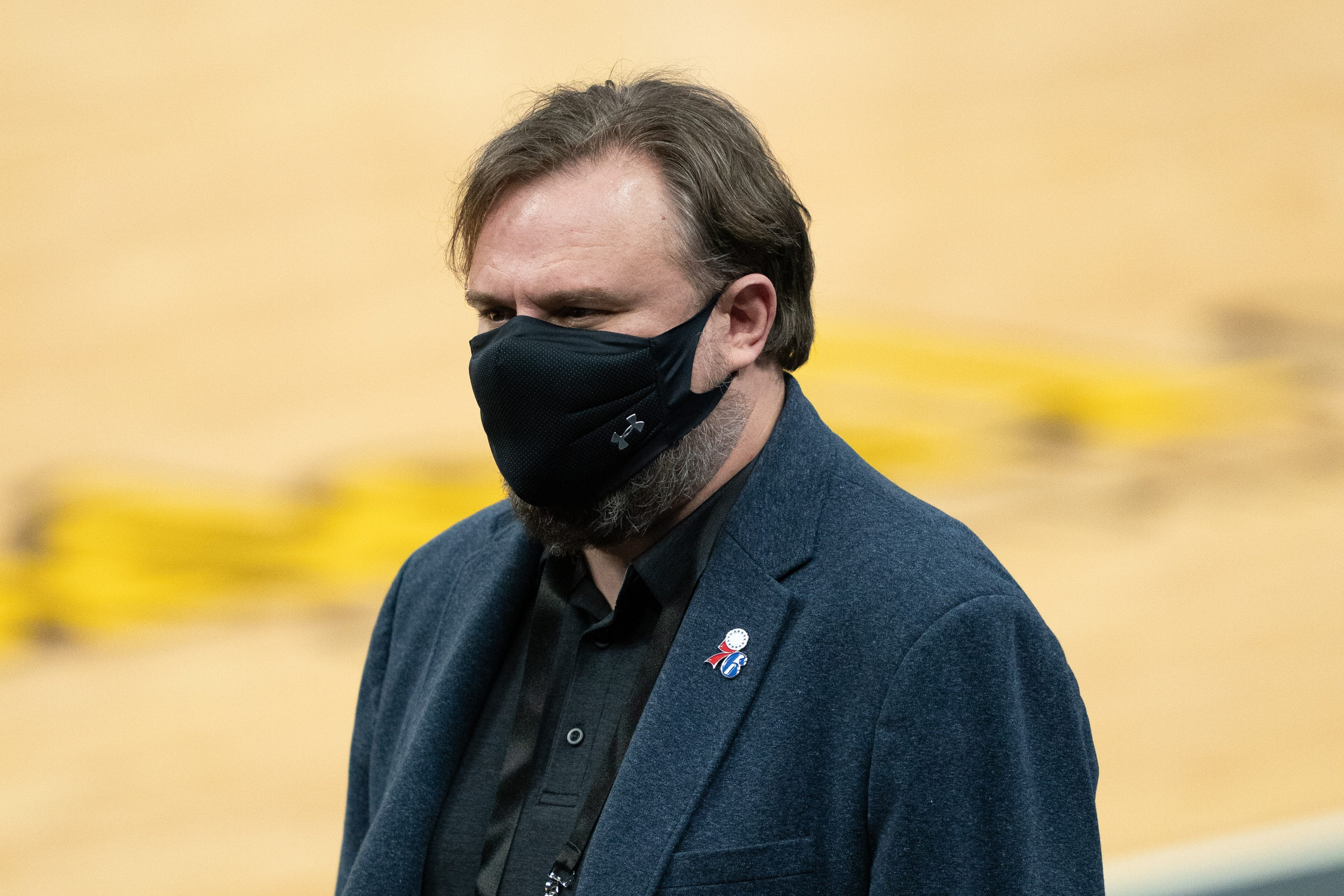 Philadelphia 76ers executive Daryl Morey fined $75,000 for violating NBA s anti-tampering rule