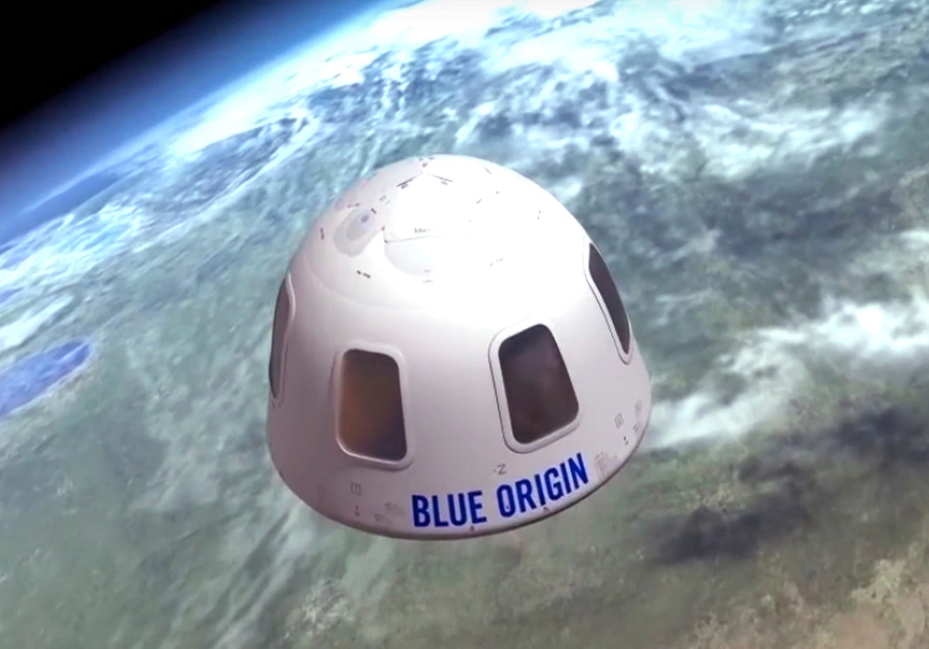 Blue Origin auctions seat for space flight with Jeff Bezos for $28M