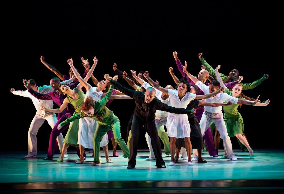 Evolution, Dream, Alvin Ailey American Dance Theater on Dec. 9,  2016, in New York City.