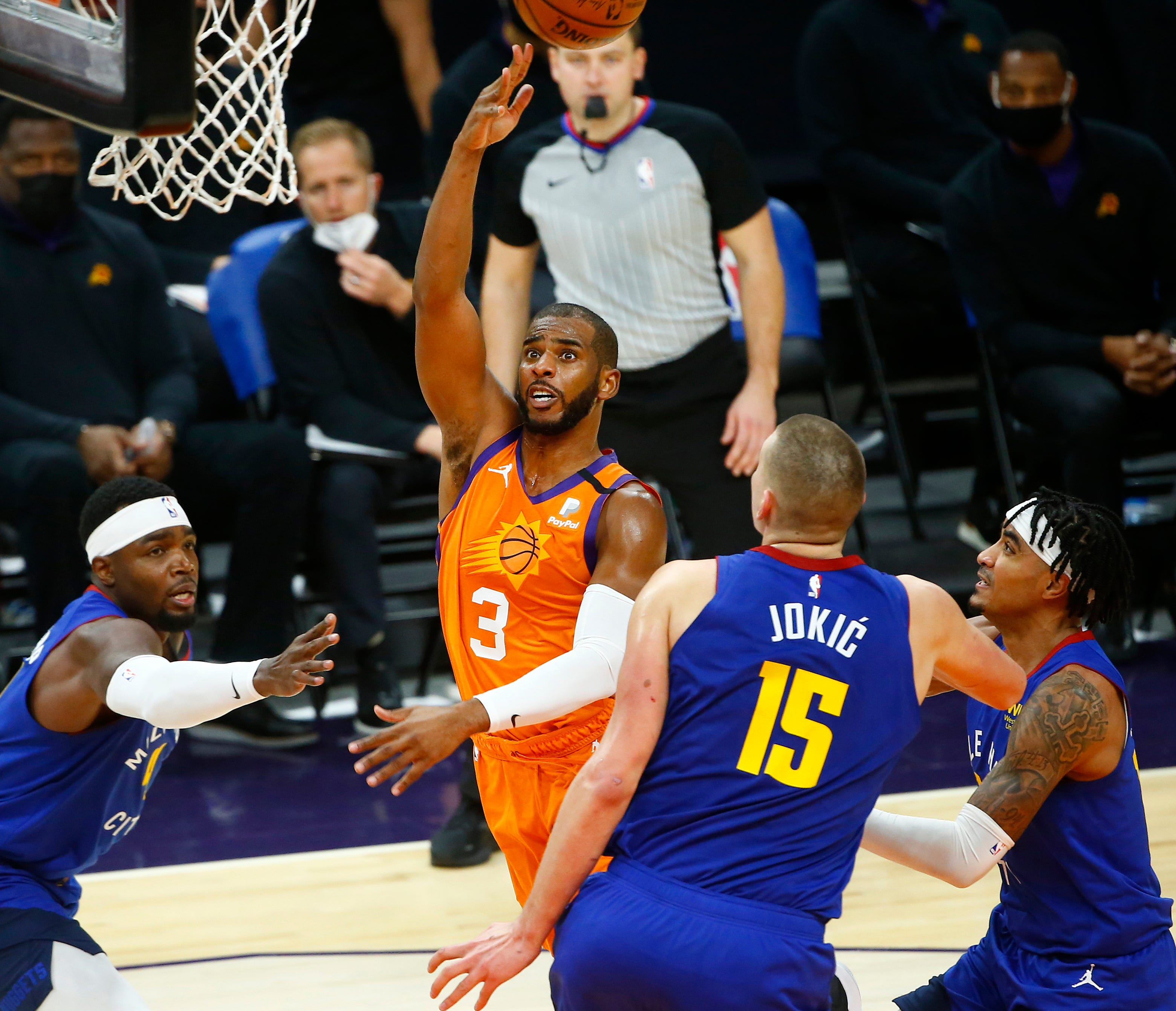 NBA Western Conference playoff picks: Who will win Nuggets-Suns, Clippers-Jazz series?